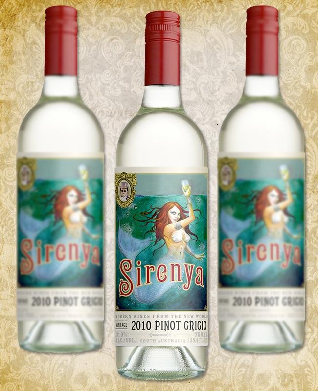 Halloween Wine - Vinaceous Sirenya Pinto Grigio