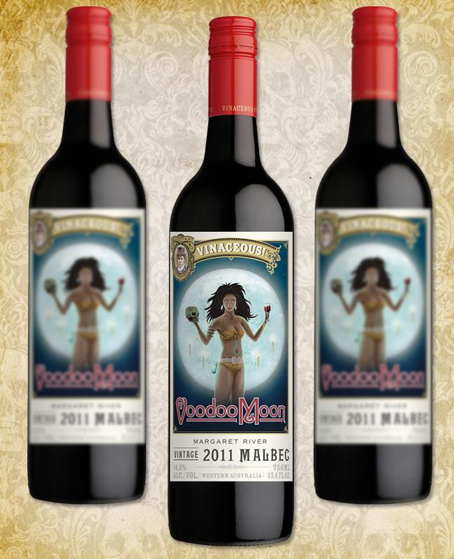 Halloween Wine - Vinaceous Voodoo Moon Malbec