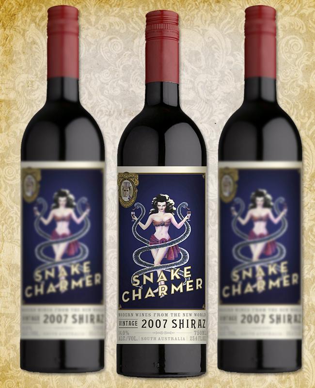 Halloween Wine - Vinaceous Snake Charmer Shiraz