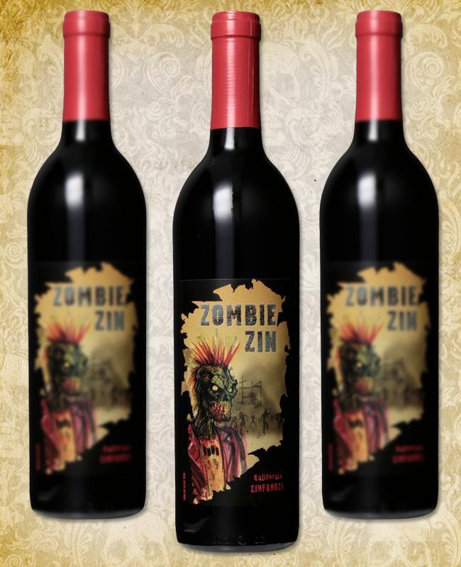 Halloween Wine - Zombie Zin