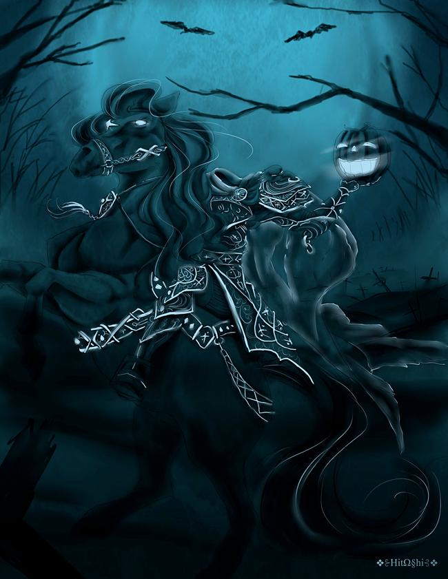 The Headless Horseman - Sapphire Mabinogi