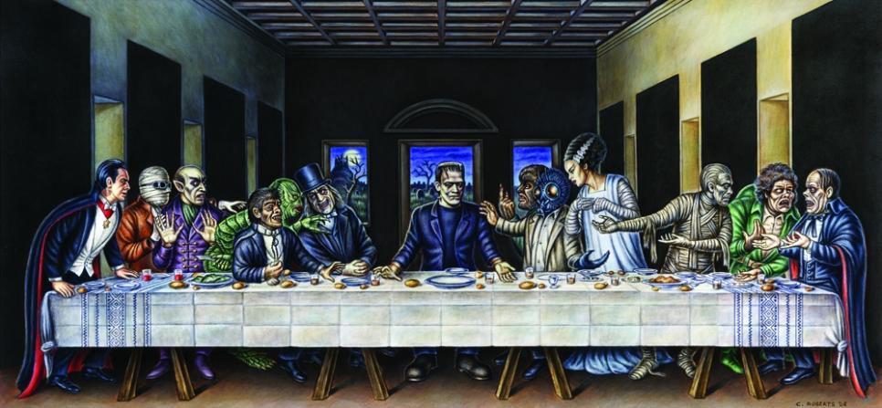 Horror Last Supper - Chris Roberts