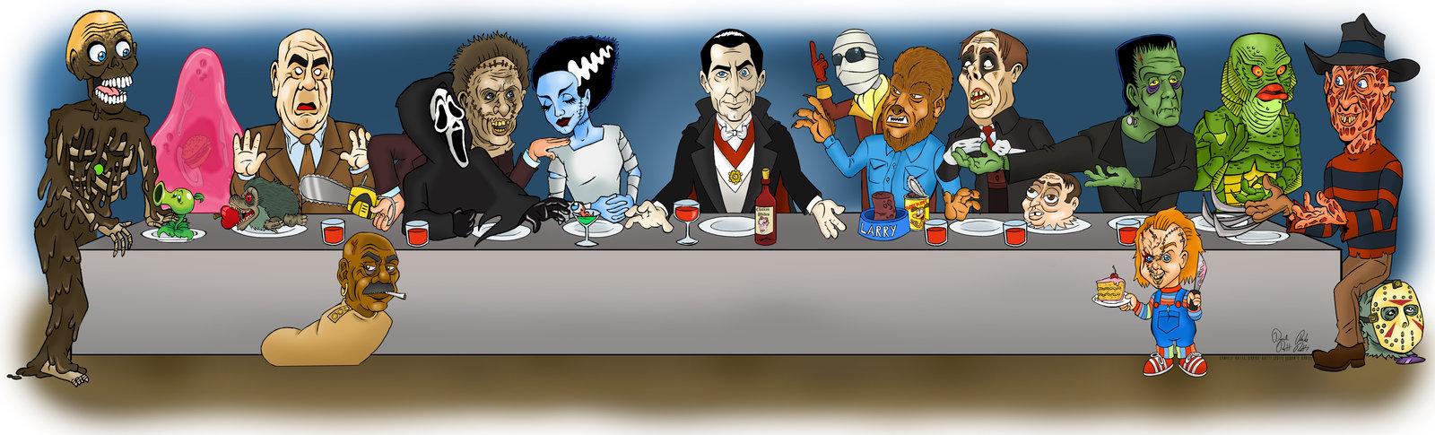 Horror Last Supper - Daniele & Davide Ratti & Davidez