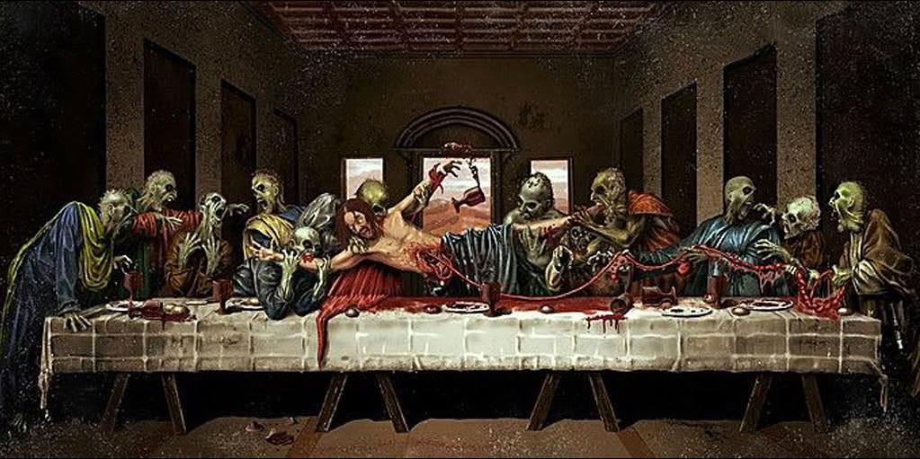 Horror Last Supper - Grim86