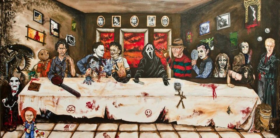 Horror Last Supper - Marjorie Bordeleau