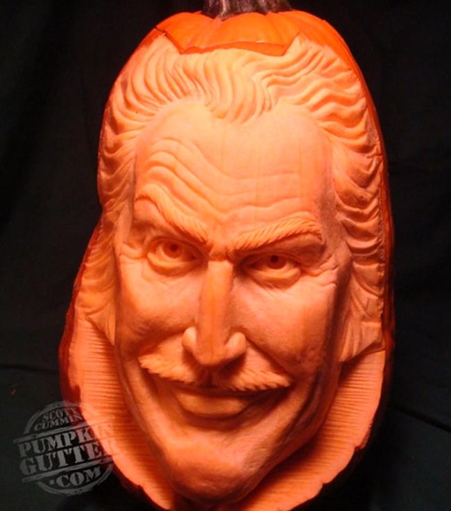 Pumpkin Carving - Pumpkin Gutter