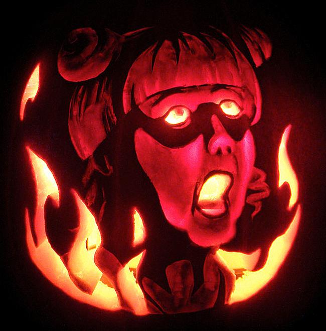 Pumpkin Carving - Victoria Alexander