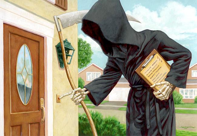 Jason Edmiston - Death at Door