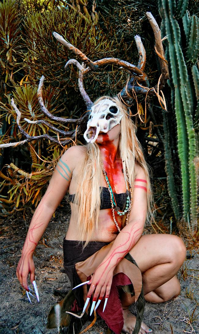 Julia S. Merino - Latex Prosthetic and Horns