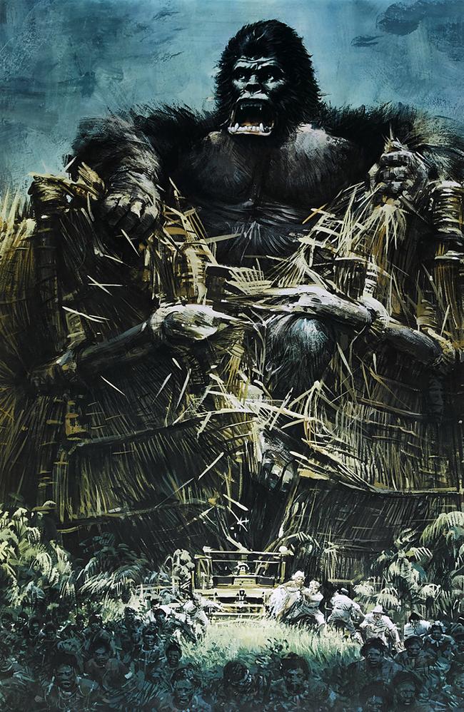 King Kong - John Berkey
