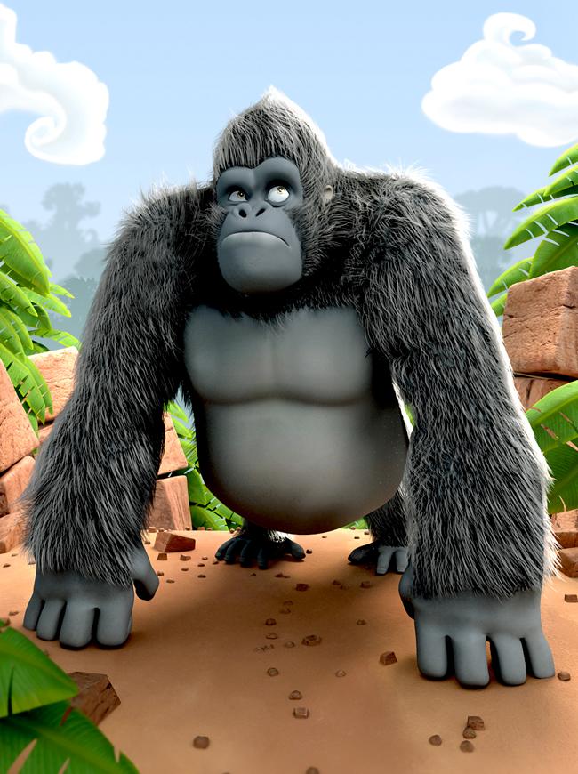 King Kong - Luis Arizaga Rico