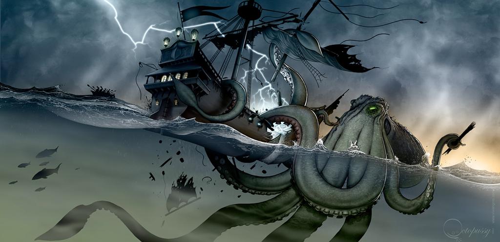 Kraken - Vivien Gros