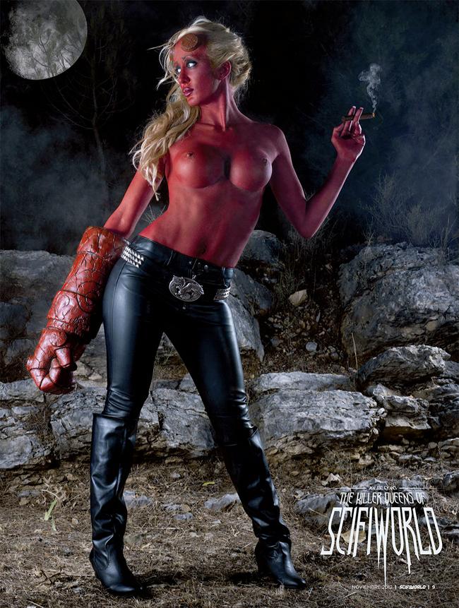 Malize Evans - Hellboy
