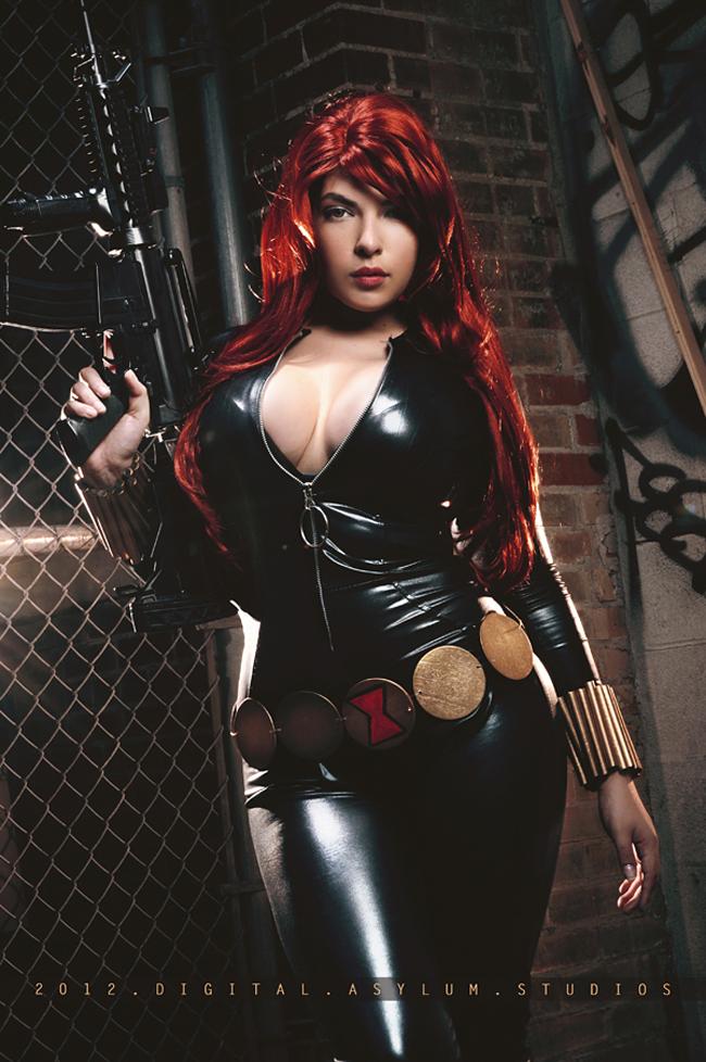Maria Ramos - Black Widow