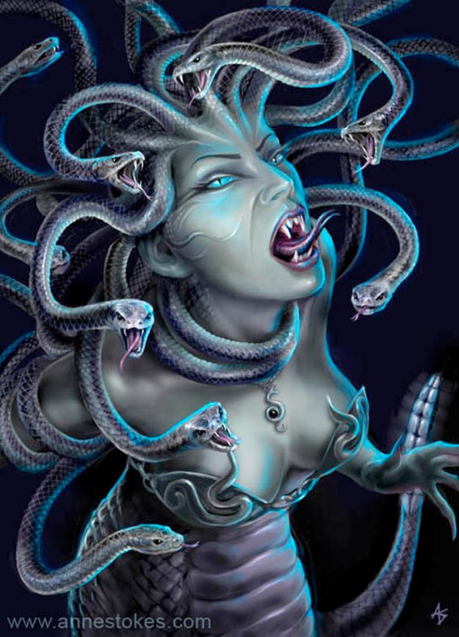 Medusa - Anne Stokes