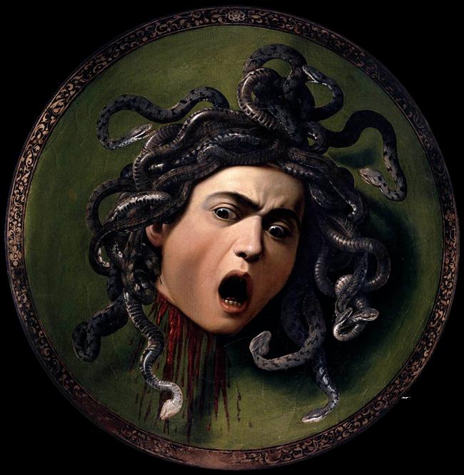 Medusa - Michelangelo Merisi da Caravaggio