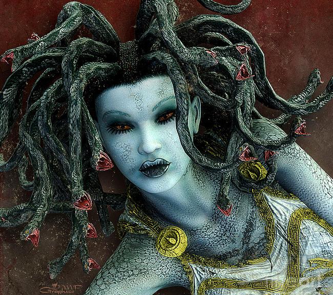 Medusa - Jutta Maria Pusl