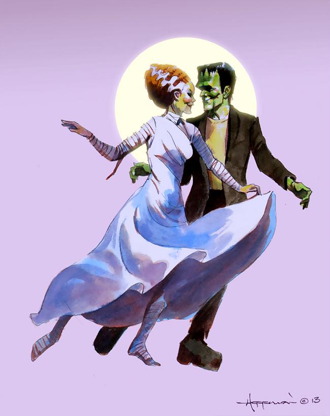Mike Hoffman - Frankenstein Couple Dancing