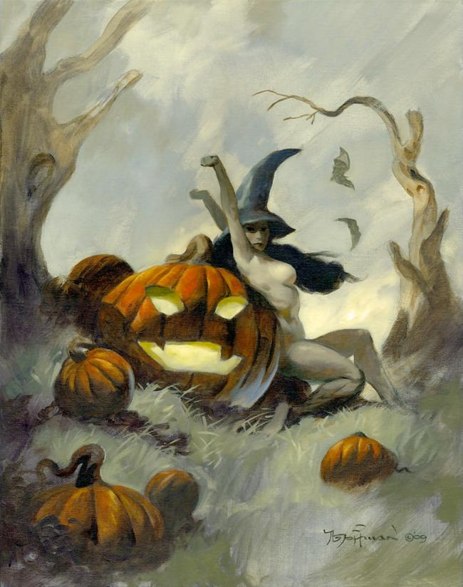 Mike Hoffman - Pumpkin Witch