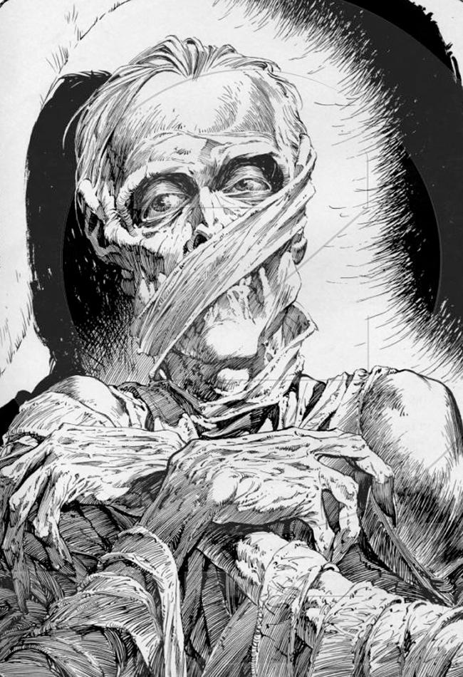Mummy - Bernie Wrightson