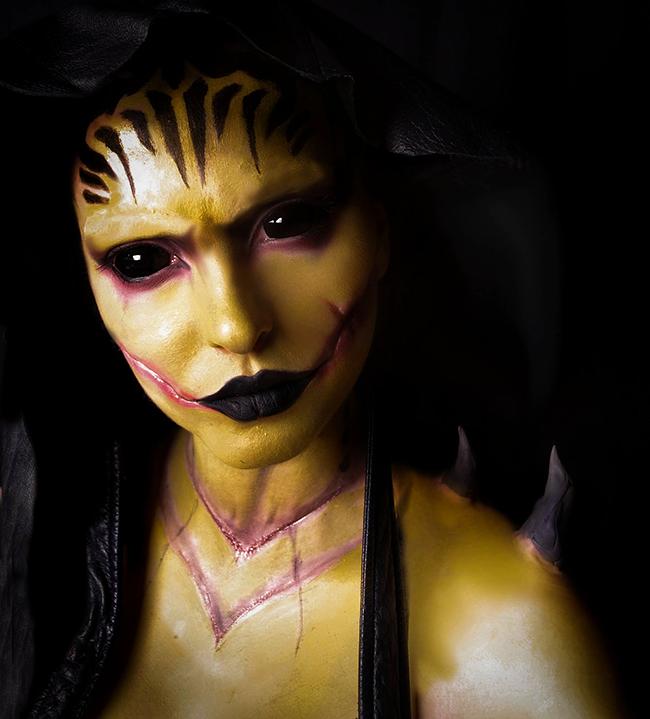 Nicci Fett - Mortal Kombat X D' Vorah