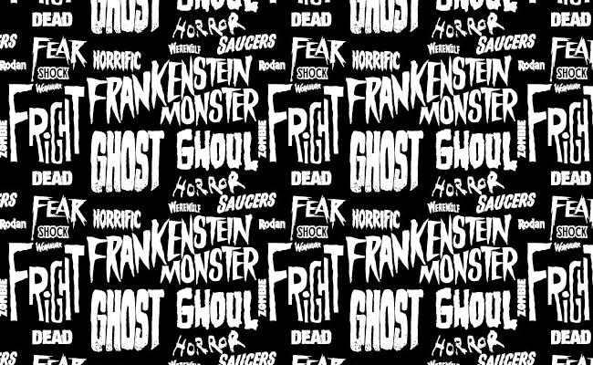 Halloween Pattern - Horror Type