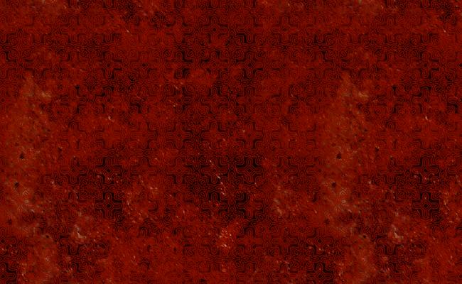 Halloween Pattern - Rust