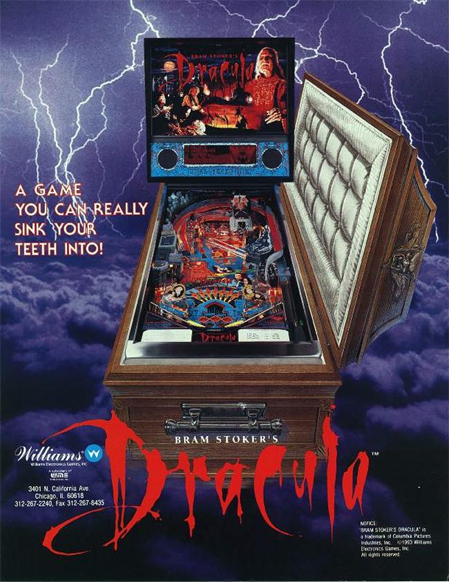 Bram Stoker's Dracula Pinball