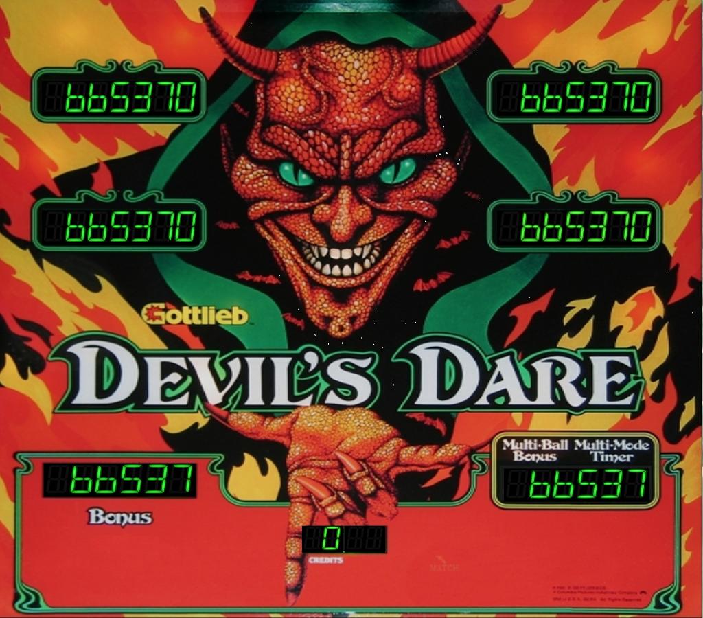 Devil's Dare Pinball