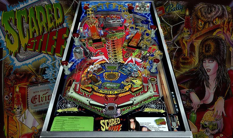 Elvira Scared Stiff Pinball