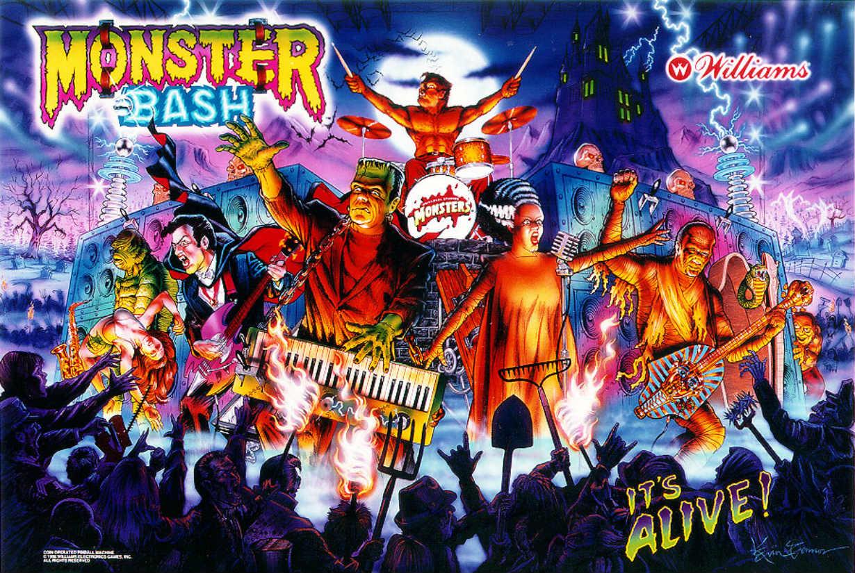 Monster Bash Pinball