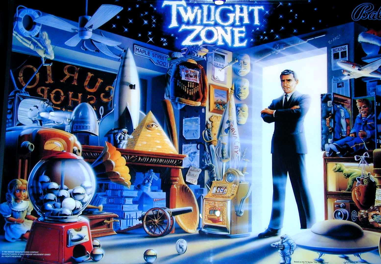 Twilight Zone Pinball