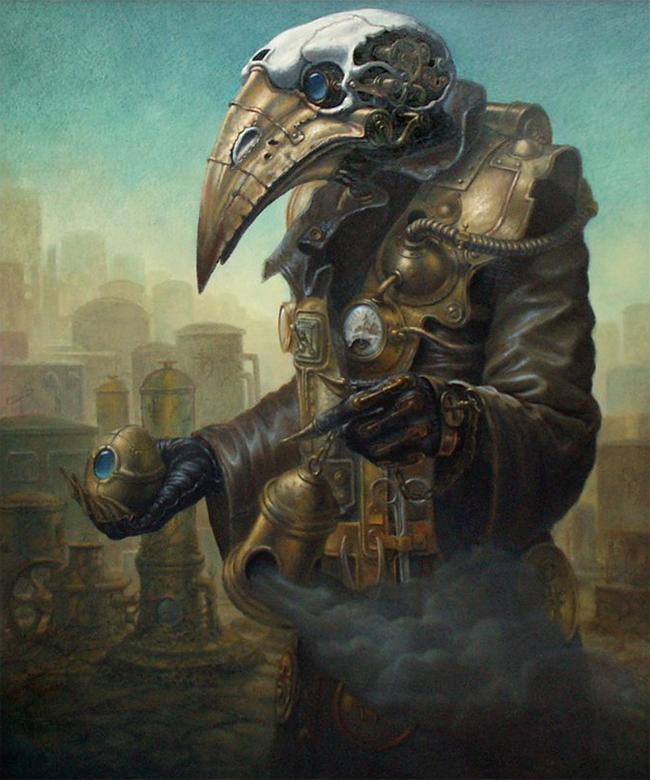 Plague Doctor - Dariusz Zawadzki