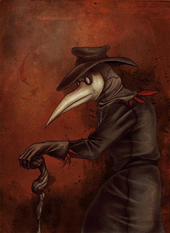 Plague Doctor - Hannah Gibson