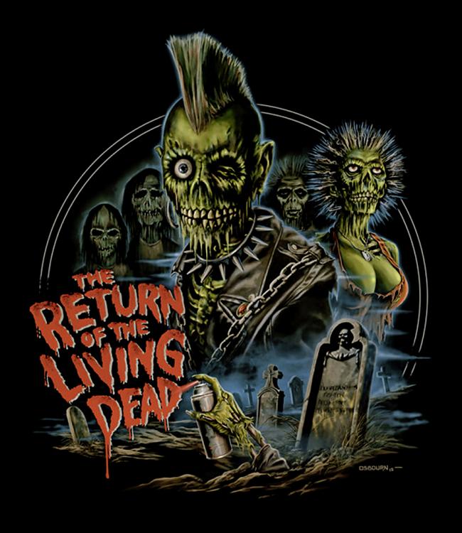 Return of the Living Dead - Fright Rags