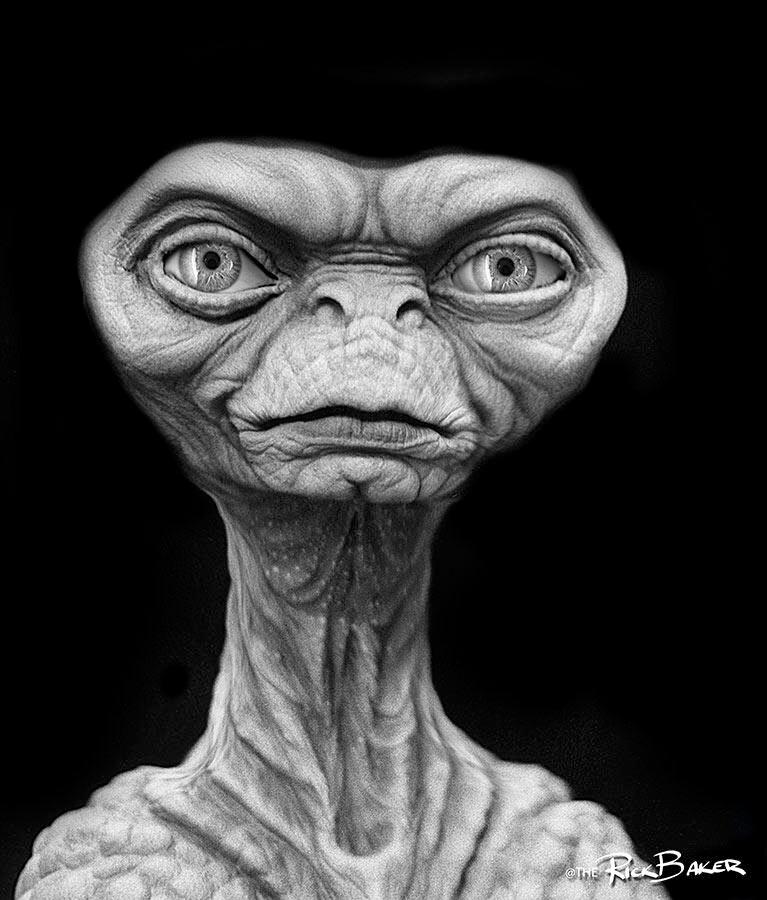 Rick Baker - E.T.'s Dad