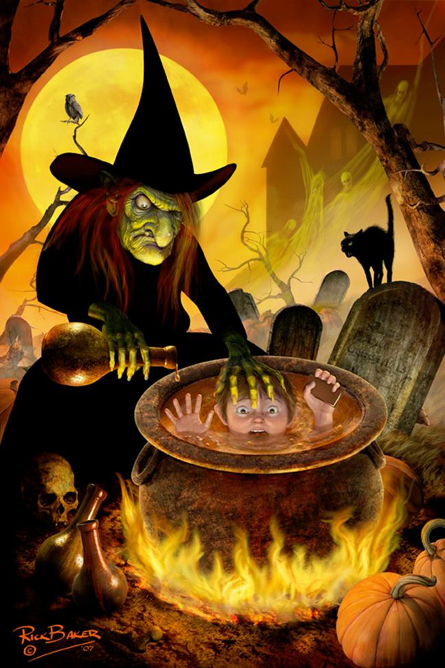 Rick Baker - Witch's Cauldon