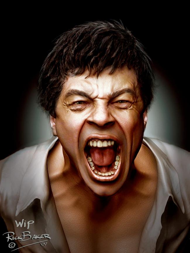 Rick Baker - Wolfman: Benicio Del Toro