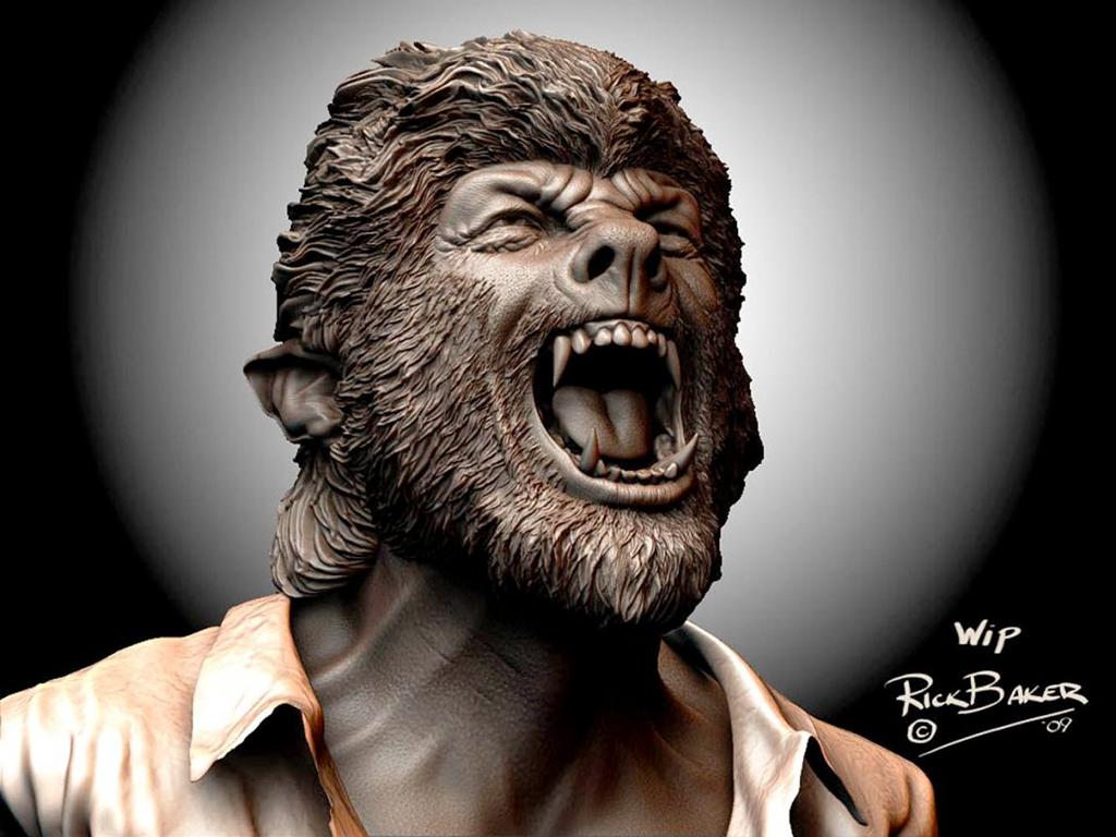 Rick Baker - Wolfman