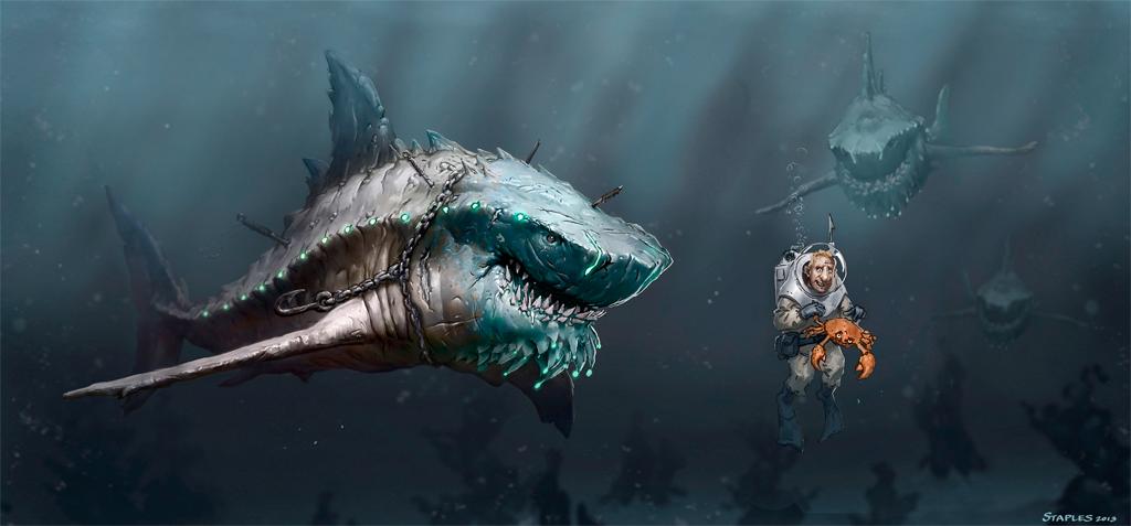 Shark - Peter Stapleton
