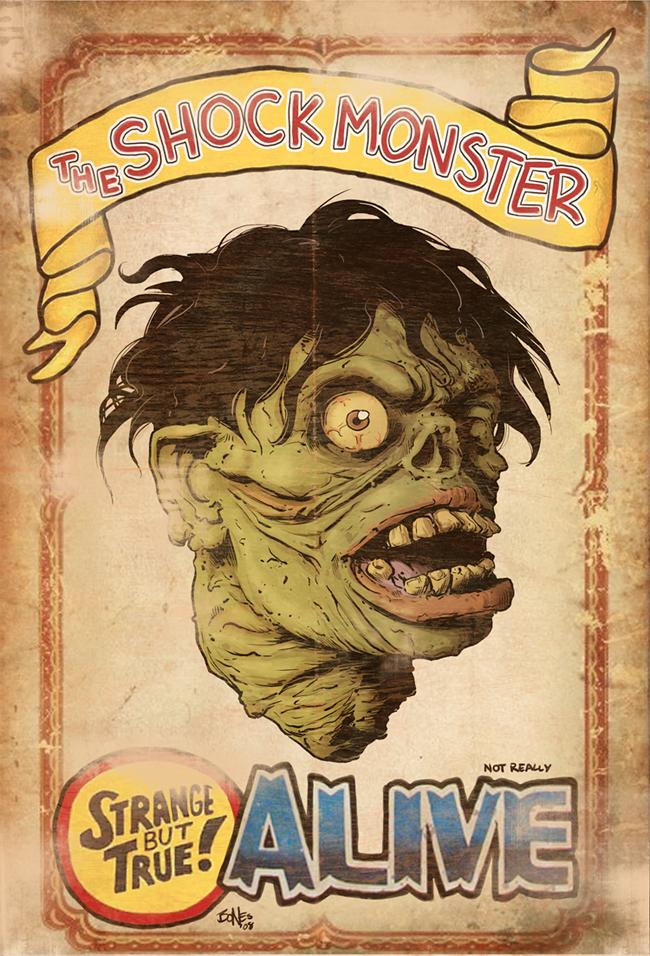 Shock Monster - Chris Bones