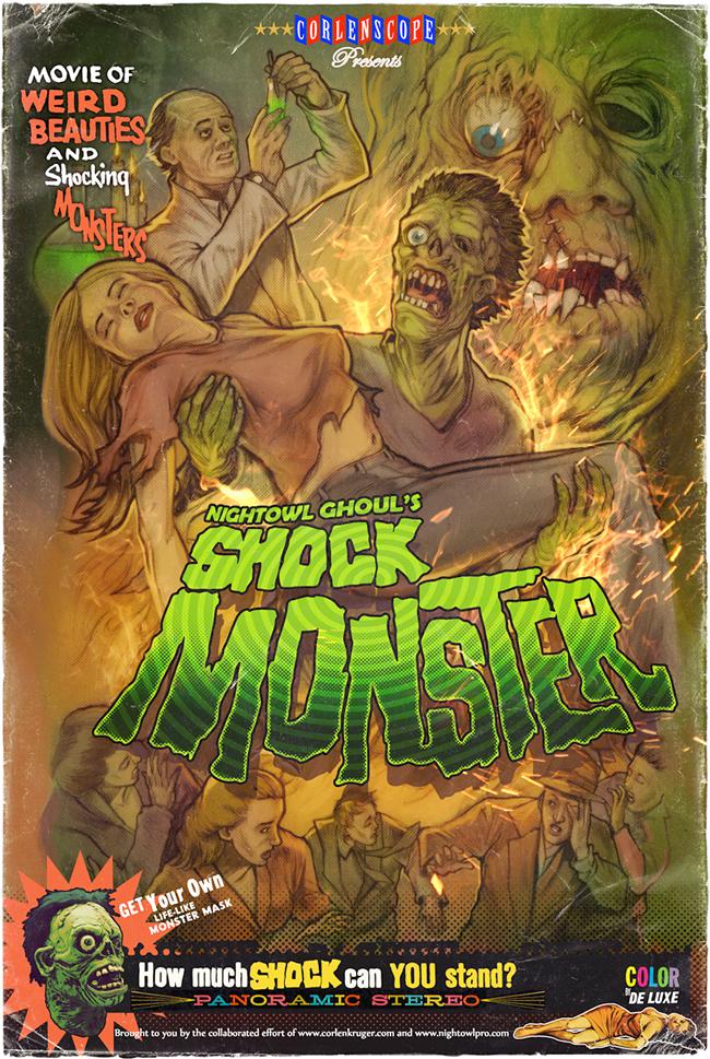 Shock Monster - Corlen Kruger