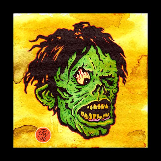 Shock Monster -  J.R. Williams