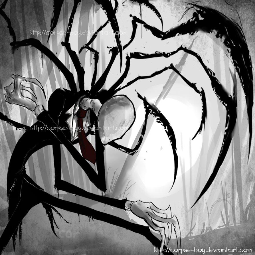 Slender Man - Corpse Boy