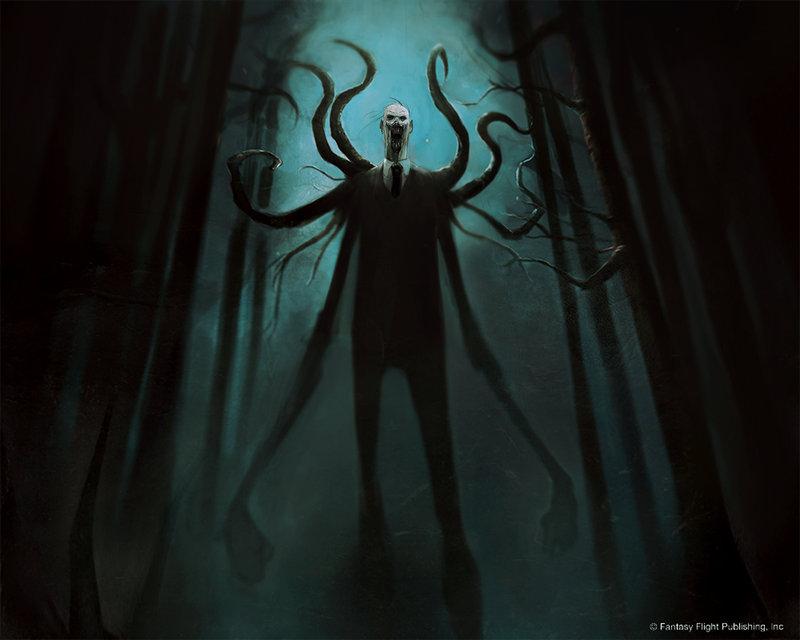 Slender Man - Damien-Worm