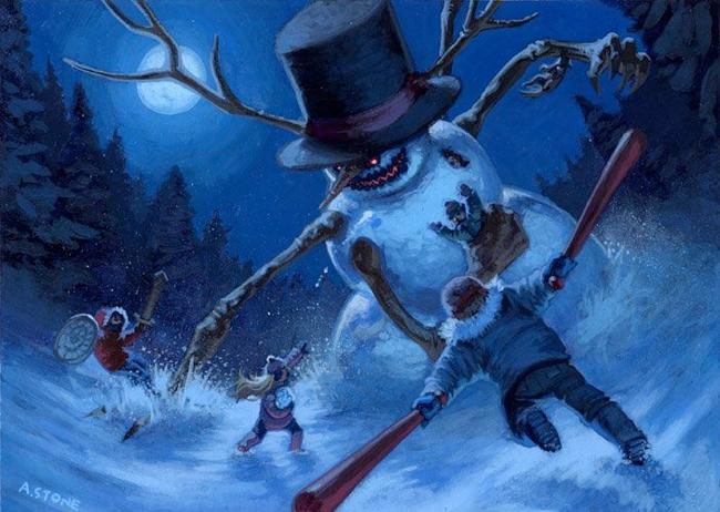 Snowman - Alex Stone