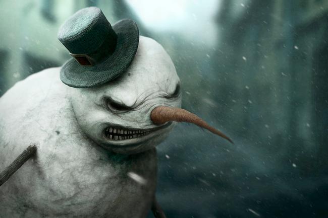 Snowman - Anton Semenov