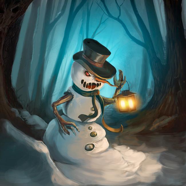 Snowman - Magda