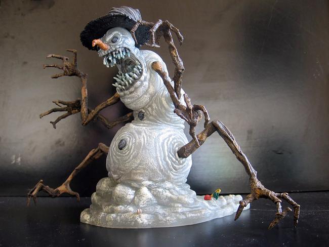 Snowman - McFarlane: Twisted Christmas - Snowman