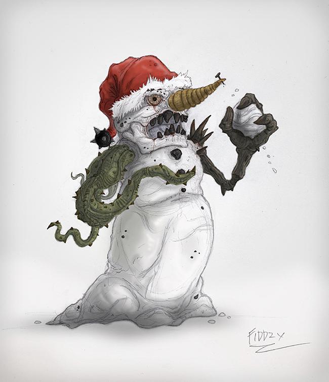Snowman - Thomas Fiddimore